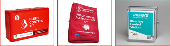 A blood control kit or bleed control kit