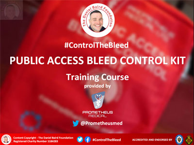 Daniel Baird Foundation Control The Bleed Training Slideshow