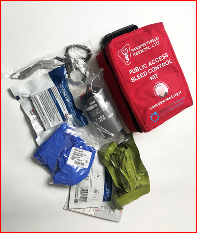 Stop Blood Loss with Control The Bleed Kit and Save a Life