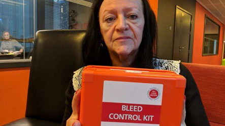 BBC News Article on the campaign for publicly available and accessible bleed control kits